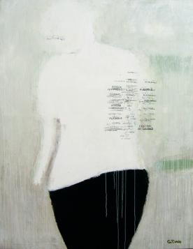 FLEXIBLE// acrílico y serigrafía sobre tela. 2006