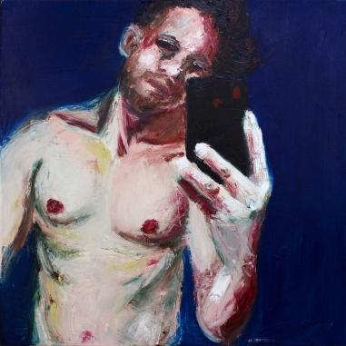 Selfie hombre fuerte RGB