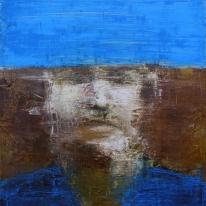 de la serie murmullo // óleo sobre tela